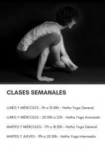 Mis clases grupales tienen lugar en Ridaya Yoga (c/Jesús del Gran Poder, número 19, Sevilla)